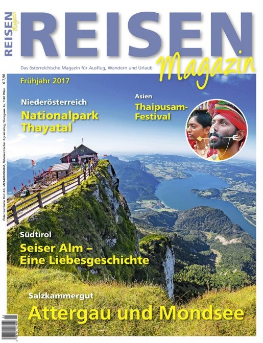 Reisen-Magazin Ausgabe 1/2017 (März, April, Mai)