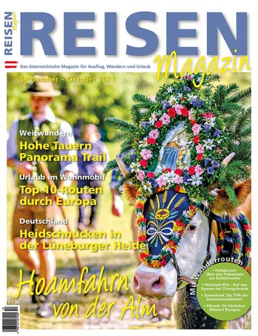 Reisen-Magazin Ausgabe September-Oktober 2021