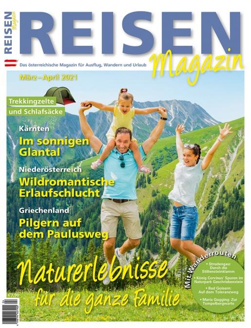 Reisen-Magazin Ausgabe März-April 2021