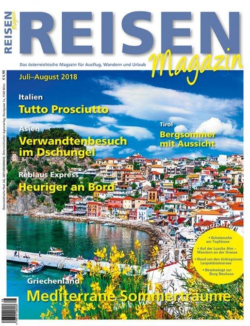 Reisen-Magazin Ausgabe Juli-August/2018