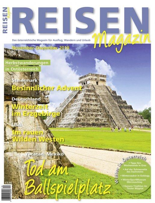 Reisen-Magazin Ausgabe November-Dezember 2019