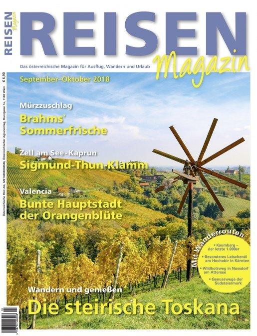 Reisen-Magazin Ausgabe September-Oktober/2018