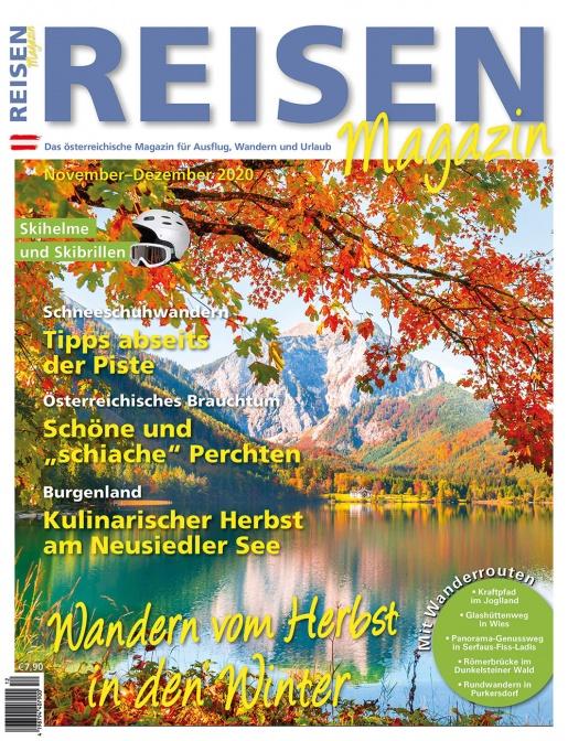 Reisen-Magazin Ausgabe November-Dezember 2020