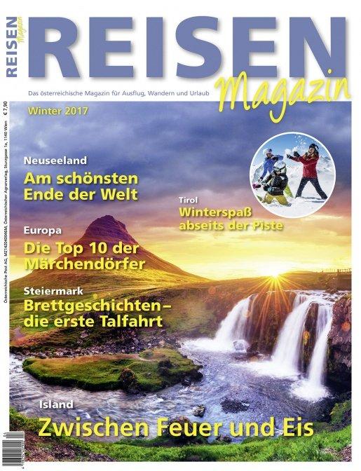 Reisen-Magazin Ausgabe 4/2017 (Dezember, Jänner, Februar)