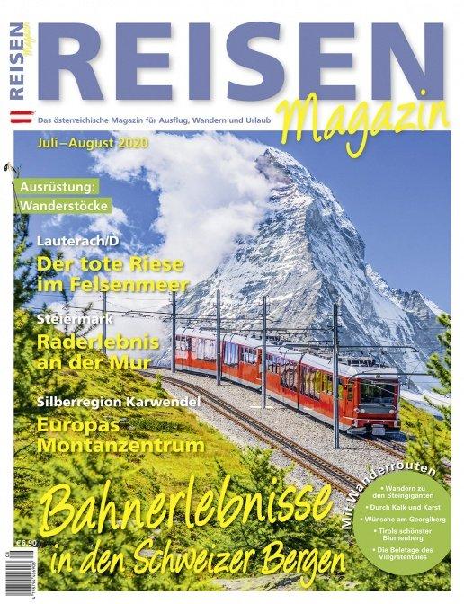 Reisen-Magazin Ausgabe Juli-August 2020