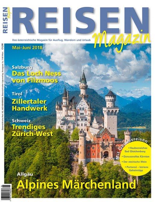 Reisen-Magazin Ausgabe Mai-Juni/2018