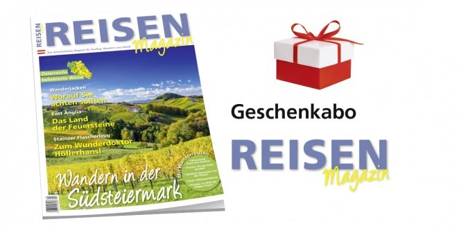 Geschenkabo Reisen-Magazin