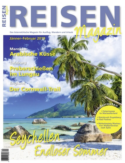 Reisen-Magazin Ausgabe Jänner-Februar/2019
