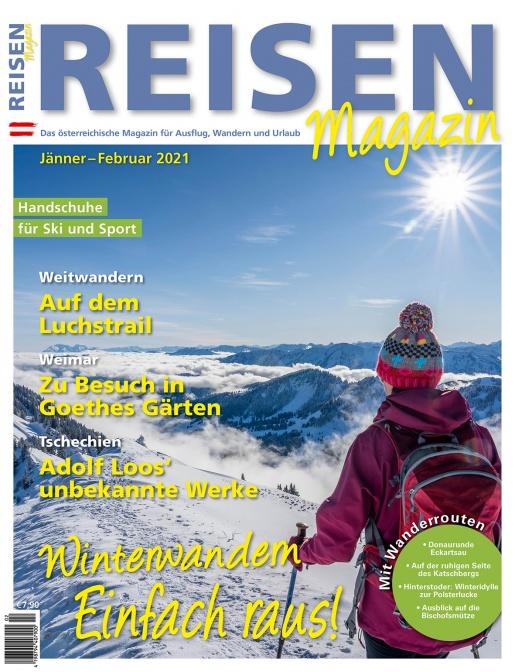 Reisen-Magazin Ausgabe Jänner-Februar 2021