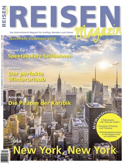 Reisen-Magazin Ausgabe November-Dezember/2018