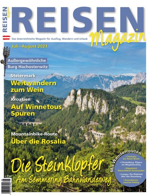 Reisen-Magazin Ausgabe Juli-August 2021