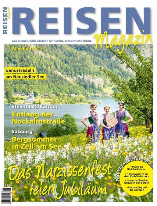 Reisen-Magazin Ausgabe Mai-Juni 2019