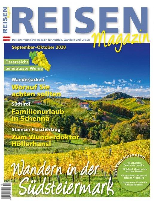 Reisen-Magazin Ausgabe September-Oktober 2020