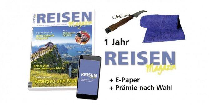 Reisen-Magazin + ePaper Print