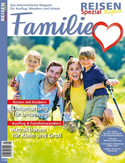 Reisen-Magazin Ausgabe Spezial Familie