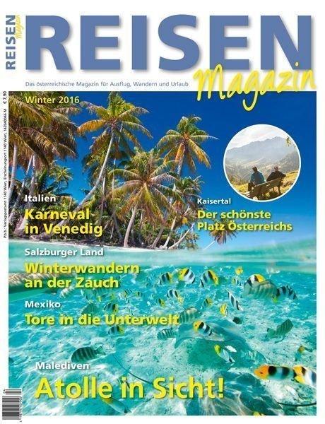 Reisen-Magazin Ausgabe 4/2016
