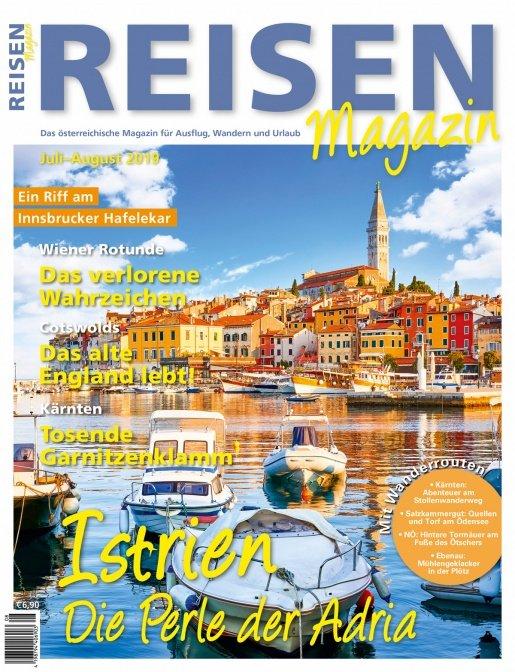 Reisen-Magazin Ausgabe Juli-August 2019